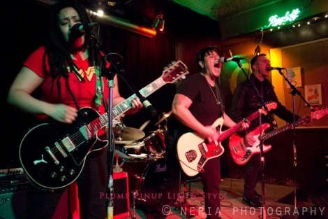 Photo: The Recruitment playing at Queer Amp at Quenchers. Photo source: Google Images, Jessica Neria Photography