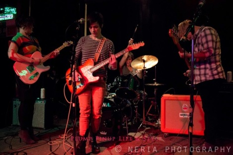 Photo: Swimsuit Addition playing at Queer Amp at Quenchers. Photo source: Google Images, Jessica Neria Photography