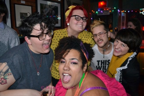 Photo: A group of queers posing at FKA at Big Chicks. Photo Source: Google Images, FKA