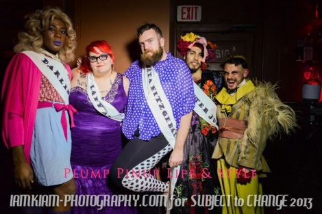 Photo: Mx. Queer (U)SA pageant for Subject to Change at the Burlington. Photo source: Google Images, IAMKIAM Photography 4 the contestants: Darling Shear, The Lady Anite Butch, Velveeta Fitzgerald, Mister Junior, Joe Varisco