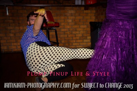 Photo: Mx. Queer (U)SA pageant for Subject to Change at the Burlington. Photo source: Google Images, IAMKIAM Photography 1 Dance off 1