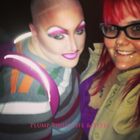 Photo: The Buch Bestie posing with me in drag. Photo source: Google Images