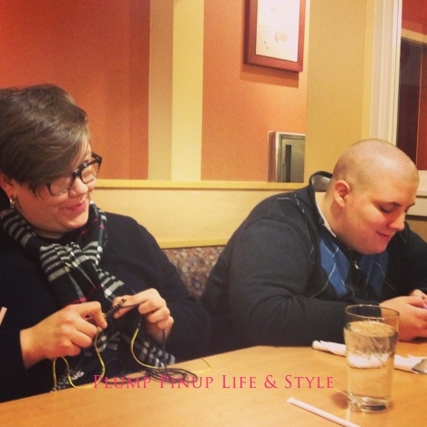 Photo: Butch Bestie and Bee Listy at IHOP. Photo source: Google Images
