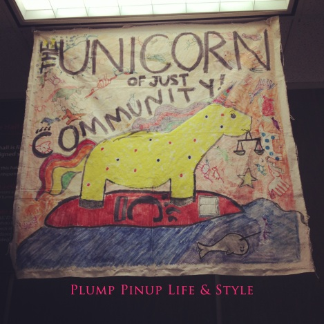 Photo: The unicorn of just community banner. Photo source: Google Images