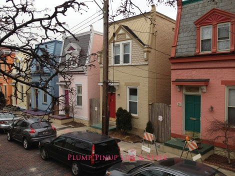 Photo: Rainbow row in Northside. Photo source: Google Images
