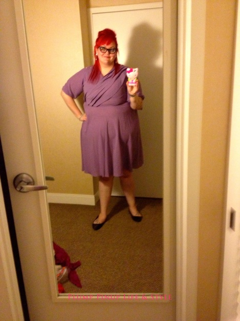Photo: Saturday 4 Creating Change 2013 National Gay and Lesbian TaskForce conference at the Hilton Atlanta, Georgia. Google Images OOTD 2 vintage purple dress circle skirt