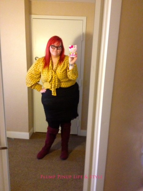 Photo: Sunday 9 Creating Change 2013 National Gay and Lesbian TaskForce conference at the Hilton Atlanta, Georgia. Google Images OOTD 1 ASOS yellow pussybow top