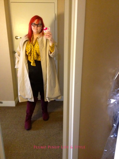 Photo: Sunday 10 Creating Change 2013 National Gay and Lesbian TaskForce conference at the Hilton Atlanta, Georgia. Google Images OOTD 2 ASOS yellow pussybow top with vintage trench coat