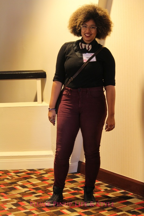 Photo: Friday 13 Creating Change 2013 National Gay and Lesbian TaskForce conference at the Hilton Atlanta, Georgia. Google Images Femme bowtie