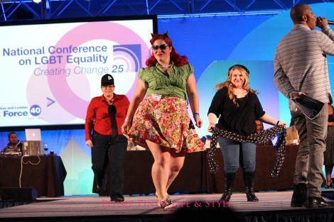Photo: Friday 19 Creating Change 2013 National Gay and Lesbian TaskForce conference at the Hilton Atlanta, Georgia. Google Images ball big girl dance off 2