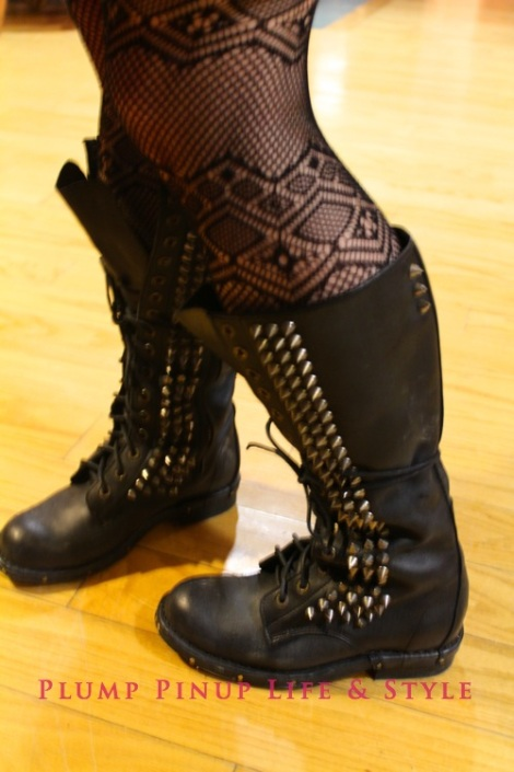 Photo: J. Jack Halberstam (USC) at The Midwest Interdisciplinary Graduate Conference at University of Wisconsin at Milwaukee Photo Source: Google Images 5 studded boots femme poet 2