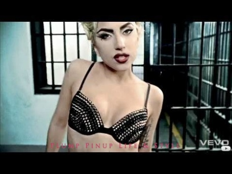"Photo: Lady Gaga's studded bra from the ""Telephone"" video. Photo Source: Google Images, LadyGagaDIY.com"
