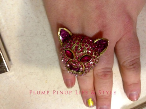 Photo: Cincinnati trip Photo source: Google images 3 Gap Clearance Store Betsey Johnson pink rhinestone cat ring