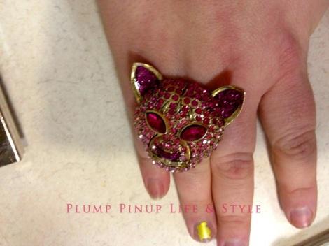 Photo: Cincinnati trip Photo source: Google images 3 Gap Clearance Store Betsey Johnson pink rhinestone cat ring