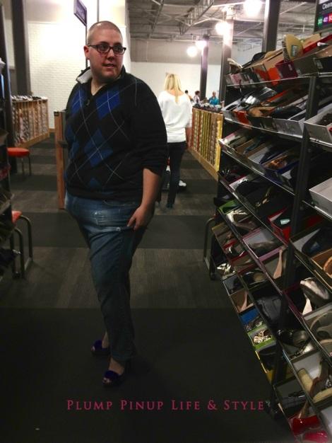 Photo: Cincinnati trip Photo source: Google images 5 DSW Butch Bestie trying on heels