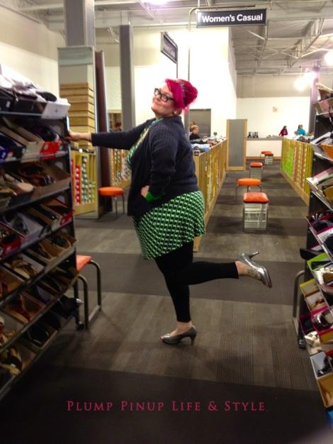 Photo: Cincinnati trip Photo source: Google images 7 DSW me trying on heels