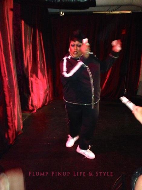 Photo: Cincinnati trip Photo source: Google images 11 Below Zero The Cabaret drag show Mystique Summers serving Missy Elliot realness