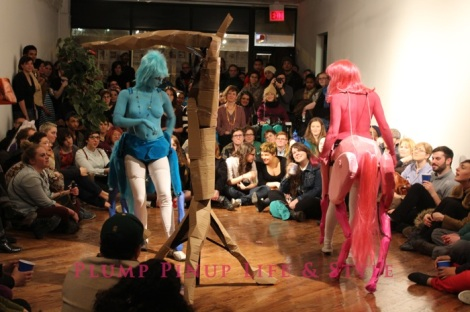Photo: So Very Alive: Performing Feminist and Queer Utopias, Futures and Dreams at Rumble Arts Center. Image Source: Google Images 7 The Centaurs puppets by AMBER MARSH WITH KATE PUCKETT AND LOLLY EXTRACT