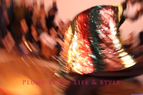 Photo: So Very Alive: Performing Feminist and Queer Utopias, Futures and Dreams at Rumble Arts Center. Image Source: Google Images 12 Vajaqueque Brown performance blurry