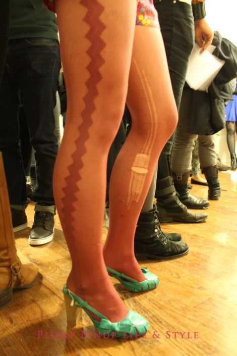 Photo: So Very Alive: Performing Feminist and Queer Utopias, Futures and Dreams at Rumble Arts Center. Image Source: Google Images 13 Carrie legs with run in stockings
