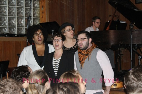 "Photo: Making Out With Wes Perry at The Hideout Photo Source: Google Images. 6 Queer Quior ""Company"" opening number"