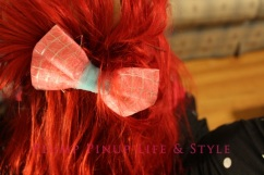 Photo: Making Out with Wes Perry and Friends March at Upstairs Gallery Photo source: Google Images 8 OOTD pink hair bow from the Creating Change fat caucus