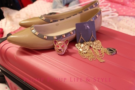 Photo: Cincinnati trip Photo source: Google images 15 DSW and Gap Clearance Store haul of studded flats, Betsey Johnson cat ring and Tinley Road gold tone earrings