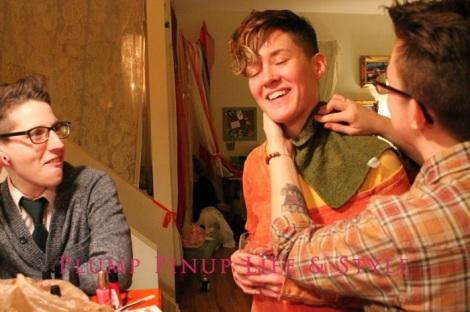 Photo: Anita Butch's birthday slumber party. Photo source: Google Images, Kate Sosin 4 Lex putting a temporary tattoo on Brooks