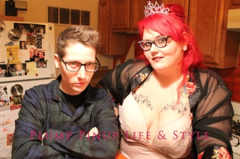 Photo: Anita Butch's birthday slumber party. Photo source: Google Images, Kate Sosin 10 Me posing with Kate