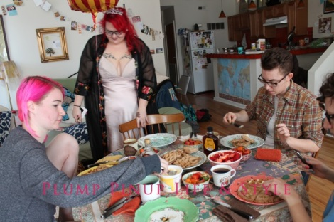 Photo: Anita Butch's birthday slumber party. Photo source: Google Images, Kate Sosin 13 queer birthday brunch