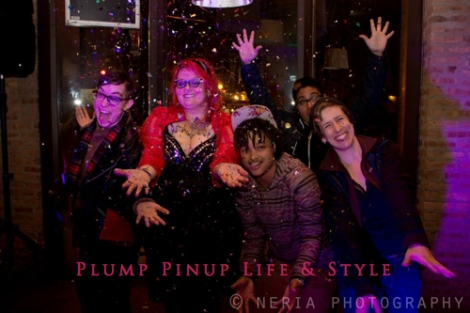 Photo: Connections Launch Party Photo source: Google Images, Jessica Neria 2 Group photo 3 with glitter confetti