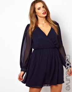 Photo: ASOS CURVE Dress With Embellished Cuff Photo source: Google Images, ASOS