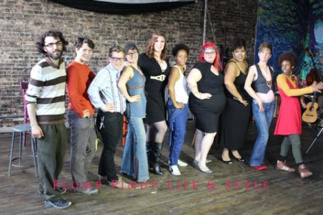 "Photo: Behind the scenes at the Project Fierce Chicago fundraising video shoot for ""Money, Money, Money"" Photo source: Google Images, Anita Butch 2 posed shot of the entire cast and crew"