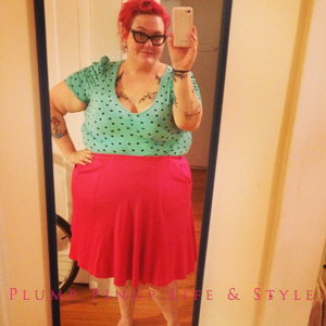 Photo: Instagram OOTD Roundup April/May 2013 Photo Source: Google Images Forever 21+ mint green polka dot top, thrifted pink skirt