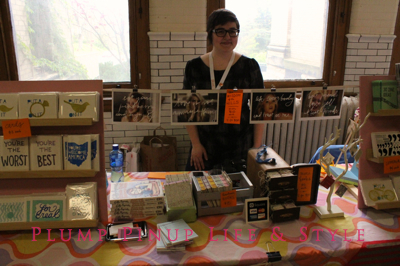 Photo: Crafty Supermarket Spring 2013 at Clifton Cultural Arts Center in Cincinnati, Ohio. Photo source: Google Images Grace Dobush, author of Crafty Superstar