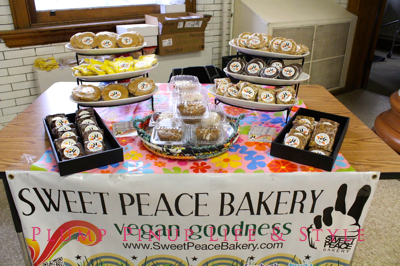 Photo: Crafty Supermarket Spring 2013 at Clifton Cultural Arts Center in Cincinnati, Ohio. Photo source: Google Images The vegan goodness of Sweet Peace Bakery