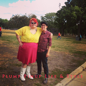 OOTD: Instagram Roundup July 2013 Photo Source Google Images Chicago Trans Pride TGIF at Union Park wearing Yellow top by Sofia Vergara for Kmart and pink half circle skirt