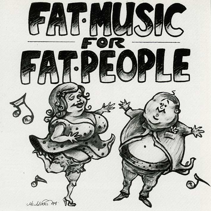 Photo: Fat Music for Fat People album cover Photo source: Google Images, Fat Wreck Chords ...
