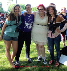 Photo: Dyke March Chicago 2013 at Margate Park Image Source: Google Image, Anita Butch OOTD with Lex, Rachel, and Hillary
