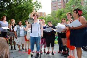 "Photo: Dyke March Chicago 2013 at Margate Park Image Source: Google Image, Anita Butch Queer Quior performing ""I Can't Go For That by Hall & Oates"" Natalie solo"