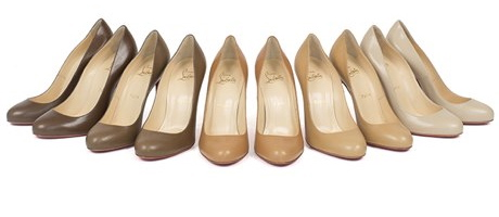 Featured Image: Photo: Christian Louboutin's Color Match Nude Line. Image Source: Google Images, The Gaurdian 1 Lineup of nudes collection